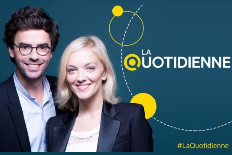 "Logo ""La Quotidienne"" France5"